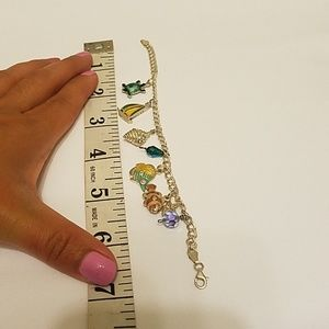 Jewelry - Nautical charm bracelet 925 silver